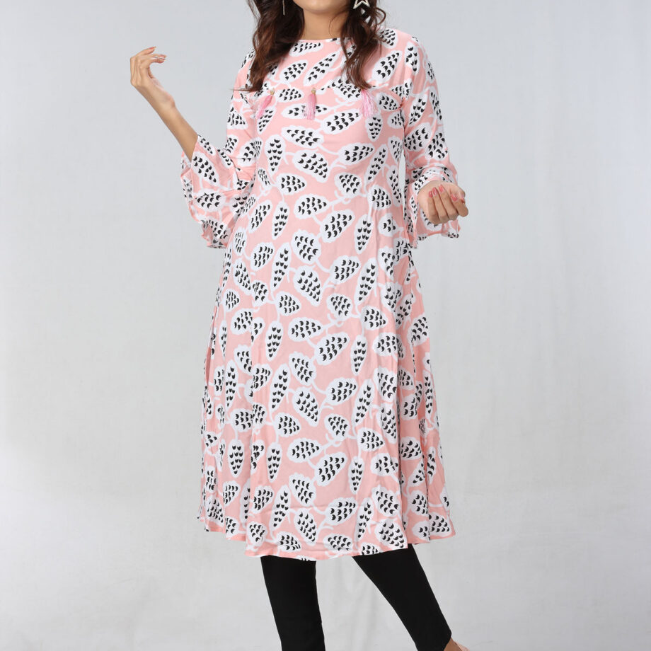 Ladies Semi Long Kurti